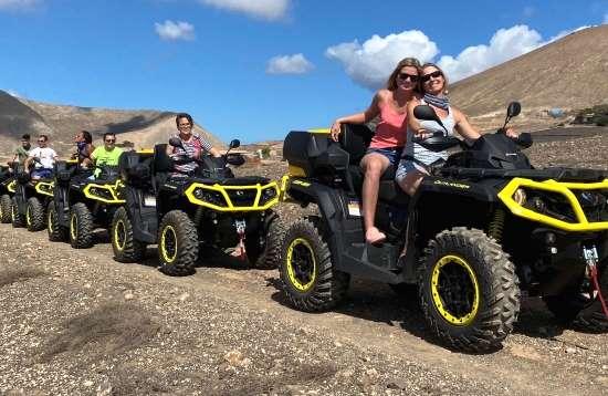 Tour de 2,0 horas en QUAD Lanzarote