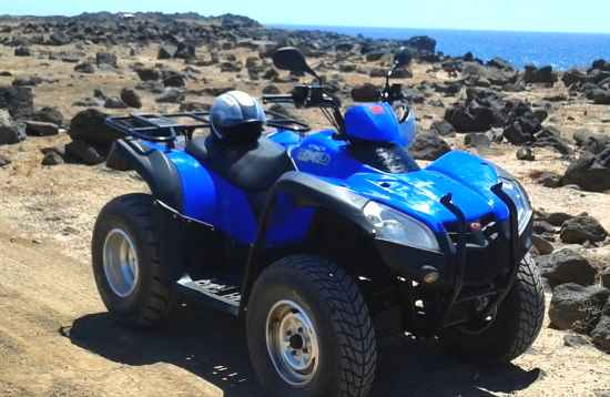 Tour de 2 horas en Quad Papagayo