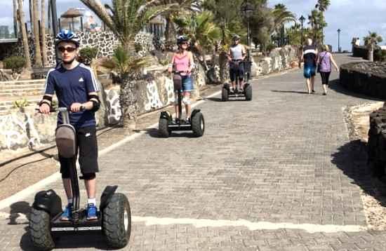 Tour 1,5 h en Segway Playa Blanca Lanzarote