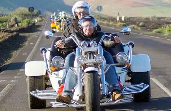 Aventura en Trike Lanzarote